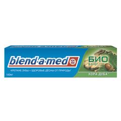 """Зубная паста, 100 мл, BLEND-A-MED (Бленд-а-Мед) Био """"Кора Дуба"""""""