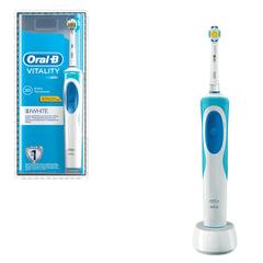 "Зубная щетка электрическая ORAL-B (Орал-би) Vitality 3D White D12.513, ""Отбеливающая"", блистер"