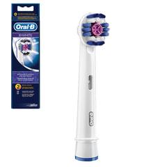 Насадки для электрической зубной щетки ORAL-B (Орал-би) 3D White EB18, комплект 2 шт.