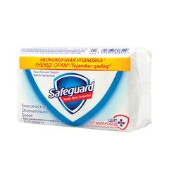 """Мыло туалетное антибактериальное, 75 г х 5 шт., SAFEGUARD (Сейфгард), """"Ослепительно Белое"""""""