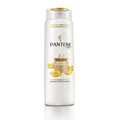 """Шампунь+ бальзам-ополаскиватель 400 мл, PANTENE (Пантин) """"Интенсивное восстановление"""", для ослабленных или поврежденных волос"""
