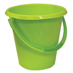 Ведро 11 л, без крышки, пластиковое, пищевое, цвет салатовый, IDEA