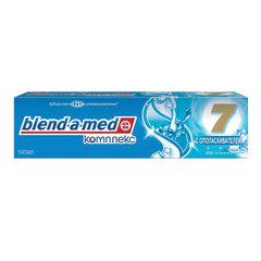 "Зубная паста, 100 мл, BLEND-A-MED (Бленд-а-Мед), Complete7 ""С ополаскивателем"", экстра-свежесть"