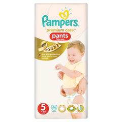 Подгузники-трусики 40 шт., PAMPERS (Памперс) Premium Care Pants, размер 5 (12-18 кг)