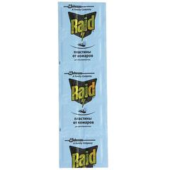 Средство от насекомых пластины для фумигатора RAID (Рейд), регулярные, 10 шт.