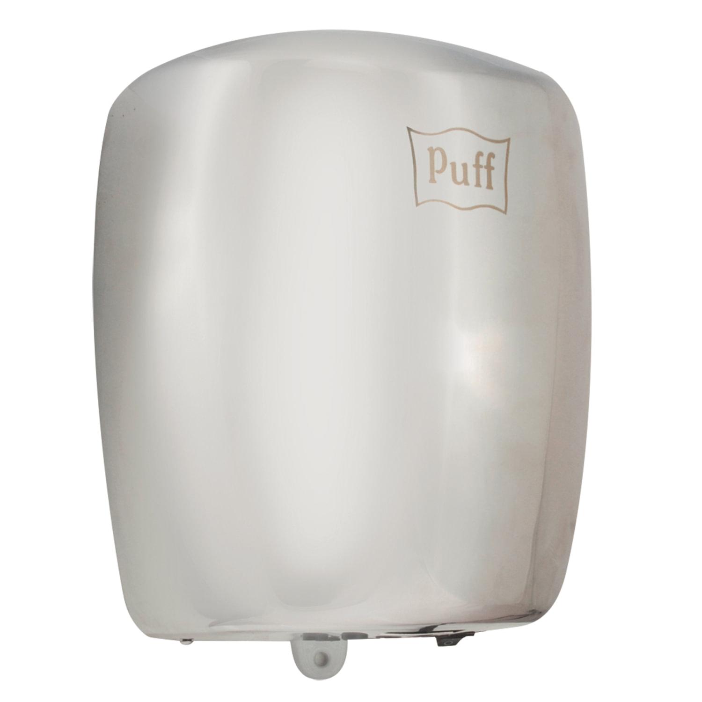 Сушилка для рук PUFF 8887, 1200 Вт, нержавеющая сталь, серебристая