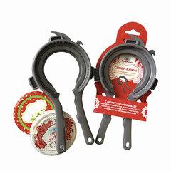 Ключ для крышек твист-офф, универсальный, 7 размеров, МОСКВИЧКА, пластиковый
