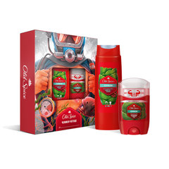 "Промонабор: дезодорант твердый 50 мл OLD SPICE ""Citron"" + гель для душа+шампунь 250 мл OLD SPICE ""Citron 2 в 1"""