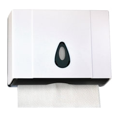 Диспенсер для полотенец KSITEX, Interfold, mini, белый (полотенца 126096, 126097)