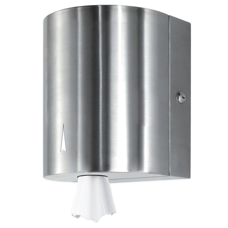 Диспенсер для полотенец KSITEX (Система М1/M2/М3/М4), с центральной вытяжкой, нержавеющая сталь, зеркальный, ТН-313S
