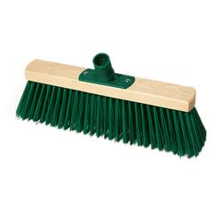 Щетка для уборки техническая, ширина 30 см, длина щетины 7,5 см, деревянная, YORK
