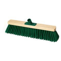 Щетка для уборки техническая, ширина 40 см, длина щетины 7,5 см, деревянная, YORK