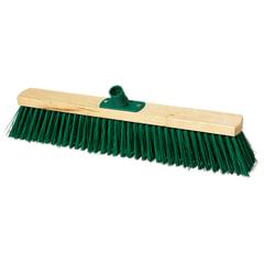Щетка для уборки техническая, ширина 50 см, длина щетины 7,5 см, деревянная, YORK