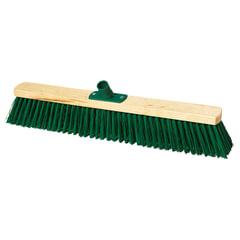 Щетка для уборки техническая, ширина 60 см, щетина 7,5 см, деревянная, еврорезьба, YORK, 130
