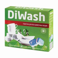 Таблетки для посудомоечных машин 60 шт. DIWASH