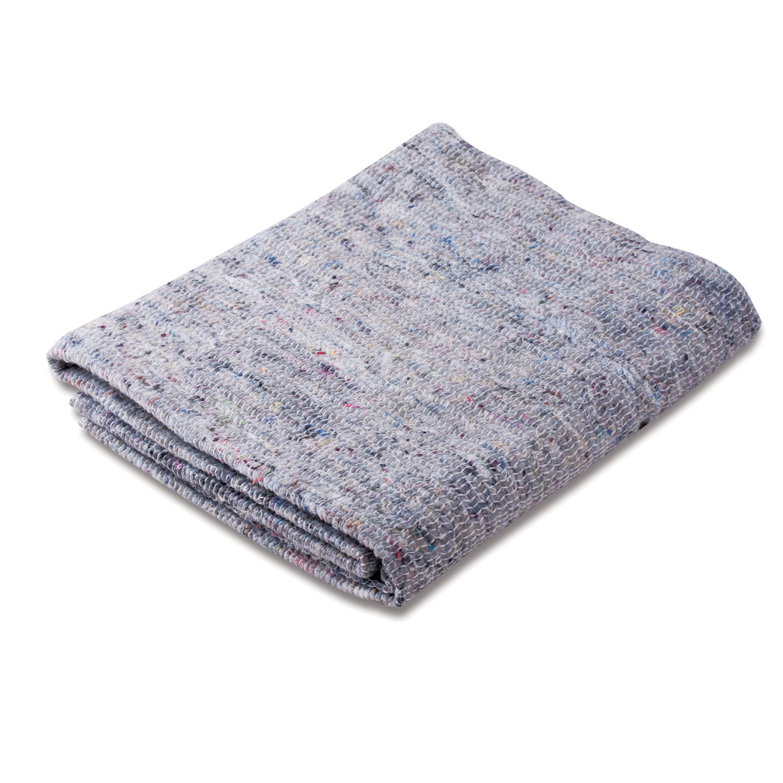 Тряпка для мытья пола 50х60 см, плотность 240 г/м2, серое ХПП, 95% хлопок, 5% полиэфир, ЛЮБАША, 604690