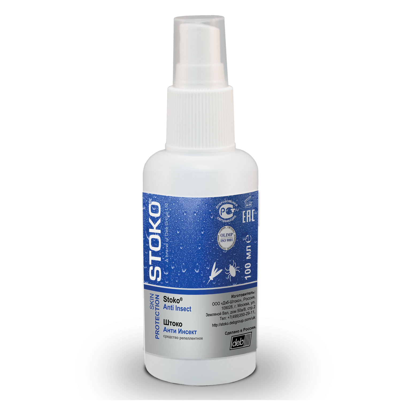 """Спрей для кожи защитный, 100 мл, STOKO """"ANTI INSECT"""", от укусов всех видов кровососущих насекомых"""