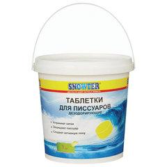 Таблетки для писсуаров 1 кг, SNOWTER (Сноутер), дезодорирующие, ведерко