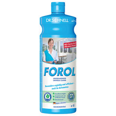 """Чистящее средство 1 л, DR.SCHNELL """"FOROL"""", универсальное для водостойких поверхностей, щелочное"""