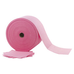 Салфетки универсальные в рулоне 480 шт., 23х23 см, вискоза (ИПП), 110 г/м2, розовые, ЛАЙМА EXPERT, 605495