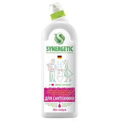 Средство для для удаления ржавчины и известкового налета 1 л SYNERGETIC, биоразлагаемое, гель