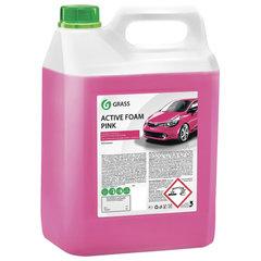 """Шампунь автомобильный для автоматической и ручной мойки 6 кг GRASS ACTIVE FOAM PINK """"Розовая пена"""""""