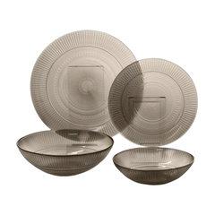 """Набор посуды столовый, 20 предметов, дымчатое стекло, """"Louison Eclipse"""", LUMINARC"""