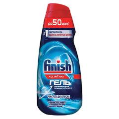 """Гель для мытья посуды в посудомоечных машинах 1 л FINISH All in 1, """"Shine&Protect"""""""