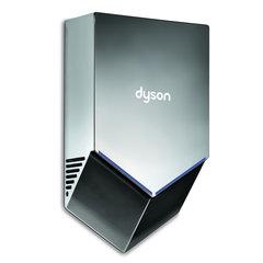 Сушилка для рук DYSON HU02, 1000 Вт, время сушки 12 секунд, поликарбонат, никель