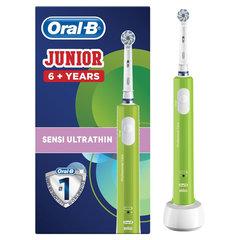 """Зубная щетка электрическая детская ORAL-B (Орал-би) """"Junior"""", 6+ лет, D16.513.1"""