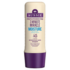 "Маска для волос 250 мл AUSSIE (Оззи) ""3 Minute Miracle Moisture"", для интенсивного ухода"
