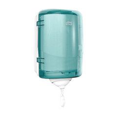 Диспенсер для полотенец с центральной вытяжкой МИНИ, Tork (Система М3) Reflex, голубой, 473167