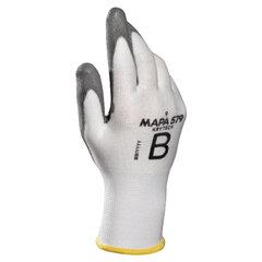 Перчатки текстильные MAPA KryTech 579, полиуретановое покрытие (облив), размер 8 (M), белые