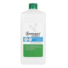 Антисептик кожный дезинфицирующий спиртосодержащий (63%) 1 л АЛМАДЕЗ-ЭКСПРЕСС, готовый раствор, крышка