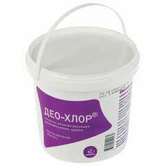 Средство дезинфицирующее 1 кг ДЕО-ХЛОР, таблетки 300 шт.