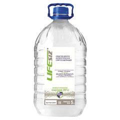 Средство для рук антисептическое спиртосодержащее (65%) 5 л ЭЛЕН, жидкость, крышка