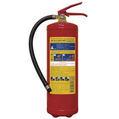 Огнетушитель порошковый ОП-6, АВСЕ (твердые, жидкие, газообразные вещества, элементы установки), МИГ