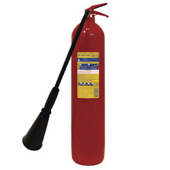 Огнетушитель углекислотный ОУ-5, ВСЕ (жидкие и газообразные вещества, элементы установки), ИНЕЙ