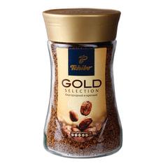 """Кофе растворимый TCHIBO """"Gold selection"""", сублимированный, 190 г, стеклянная банка"""