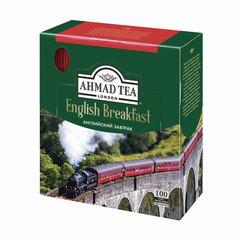 "Чай AHMAD (Ахмад) ""English Breakfast"", черный, 100 пакетиков по 2 г"
