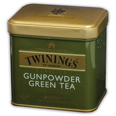 "Чай TWININGS (Твайнингс) ""Green tea Gunpowder"", зеленый, железная банка, 100 г"