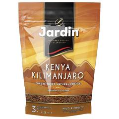 """Кофе растворимый JARDIN """"Kenya Kilimanjaro"""" (""""Кения Килиманджаро""""), сублимированный, 150 г, мягкая упаковка"""