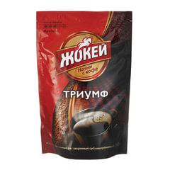 """Кофе растворимый ЖОКЕЙ """"Триумф"""", сублимированный, 280 г, мягкая упаковка"""
