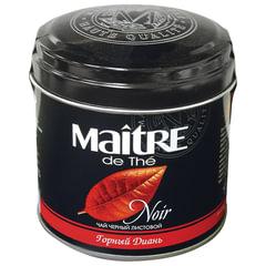 """Чай MAITRE (Мэтр) """"Горный диань"""", черный, листовой, жестяная банка, 100 г"""