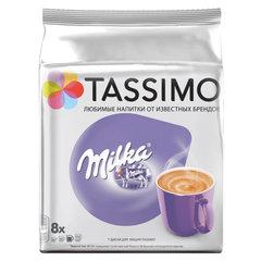"Кофе в капсулах JACOBS ""Milka"" для кофемашин Tassimo, 8 шт. х 30 г"