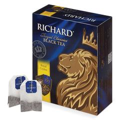 "Чай RICHARD (Ричард) ""Royal Ceylon"" (""Роял Цейлон""), черный, 100 пакетиков по 2 г"