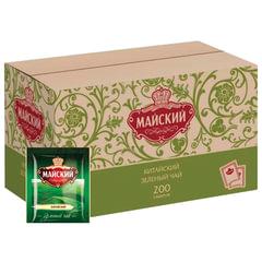 Чай МАЙСКИЙ зеленый, 200 пакетиков в конвертах по 2 г
