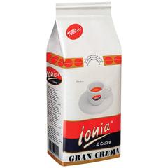 """Кофе в зернах IONIA """"Gran Crema"""", натуральный, арабика 80%, робуста 20%, 1000 г, вакуумная упаковка"""
