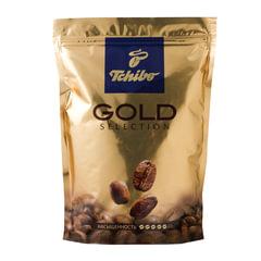 """Кофе растворимый TCHIBO """"Gold selection"""", сублимированный, 285 г, мягкая упаковка"""