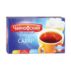 """Сахар-рафинад """"Чайкофский"""", 1 кг (196 кусочков, 15х16х21 мм), высший сорт по ГОСТу, картонная упаковка"""